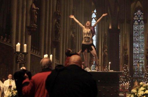 Femen-Aktivistin zieht Revision zurück
