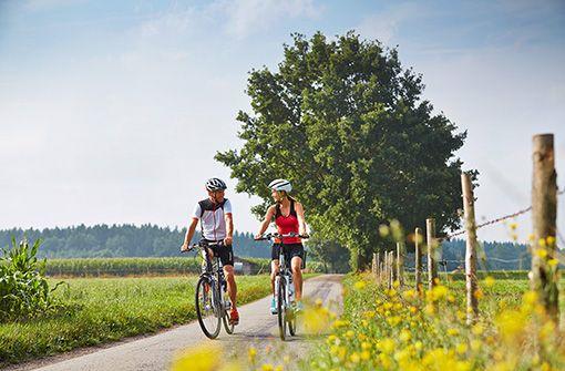 250 Kilometer Radwege in und um Bad Wörishofen.  Foto: Kur- und Tourismusbetrieb Bad Wörishofen