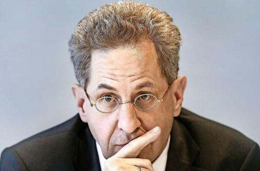 Verfassungsschutz-Präsident Maaßen in Erklärungsnot Foto: AP, dpaScreenshot: StZ