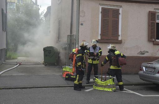 Die Feuerwehr rückte zu einem Brand in Bad Cannstatt aus. Foto: Andreas Rosar Fotoagentur-Stuttgart