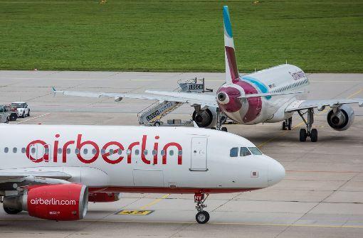 In Stuttgart wurden am Donnerstag zwei Flüge annuliert. Foto: dpa