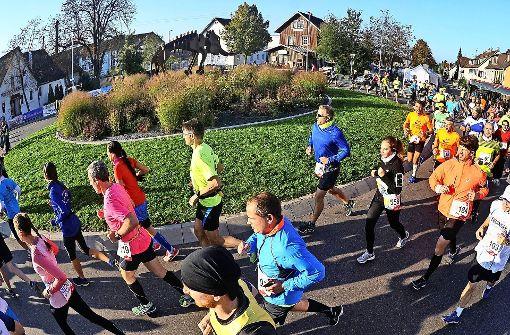 Beim Bottwartal-Marathon läuft's richtig rund