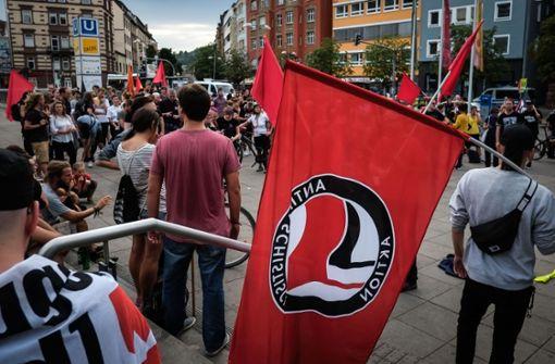 Nach den Vorfällen in Chemnitz haben die Teilnehmer ein Zeichen gegen Rassismus gesetzt. Foto: Lichtgut/Max Kovalenko