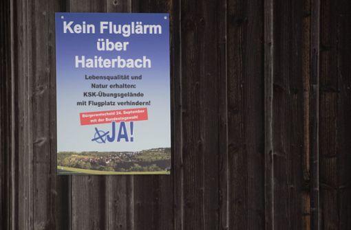 Protest gegen KSK-Fallschirmjäger