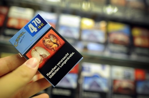 Künftig sollen Fotos auf Zigarettenschachteln abschrecken Foto: dpa