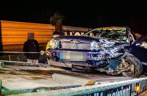32-jähriger Autofahrer fährt frontal in BMW