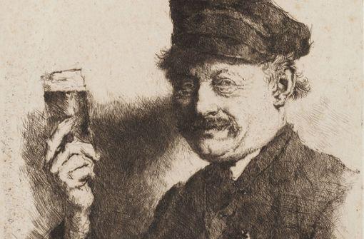 """Auch den """"Trinker"""" raubten die Nazis"""