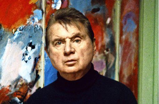 Francis Bacon in seinem Atelier Foto: Edward Quinn