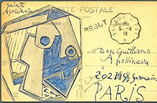 Post von Pablo Picasso