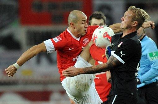 Der VfB Stuttgart ließ sich von Mainz überrumpeln. Klicken Sie sich durch unsere Noten für die Roten. Foto: dapd