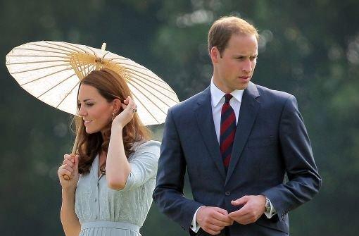 Es ist die royale Schlagzeile des Jahres: Herzogin Kate und Prinz William erwarten ein Kind. Foto: AP