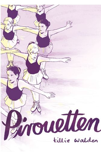 """Das Cover von Tillie Waldens autobiografischer Graphic Novel """"Pirouetten"""" Foto: Reprodukt"""