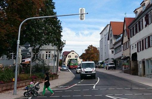 Die Grabenstraße ist am Wochenende noch einmal zu