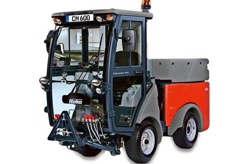 Das Objekt der Begierde: Der multifunktionale  Citymaster 600 Comfort. Foto: Hako