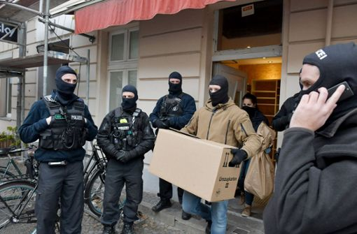 Anti-Terror-Razzia in Berlin