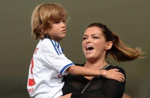 Sabia Boulahrouz soll Sylvies Sohn Damian ein Foto seiner toten Halbschwester gezeigt haben. Foto: dpa