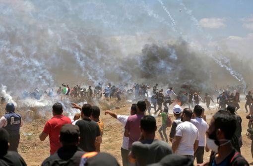 52 Tote bei Protesten in Gaza