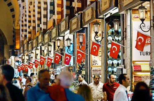 Angst vor einer Staatspleite der Türkei
