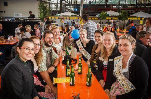 Stuttgarter trinken für den guten Zweck