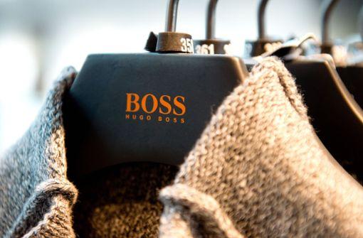 In Deutschland läuft das Geschäft von Hugo Boss gut und verzeichnet wachsende Umsätze. Foto: dpa