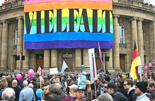 Die Oper hat den Gegnern der Homo-Ehe eine klare Absage erteilt. Foto: Lichtgut/Horst Rudel