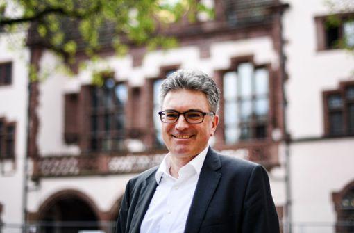 Oberbürgermeister Salomon braucht zweiten Wahlgang