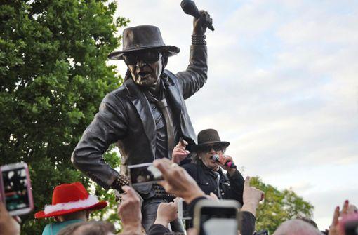 Gestohlene Statue des Kultrockers wieder aufgetaucht