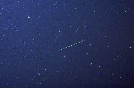 Der Sternschnuppen-Höhepunkt des Jahres