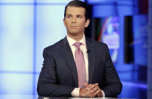 """Trump Jr. tut Vorwürfe als """"lächerlich"""" ab"""