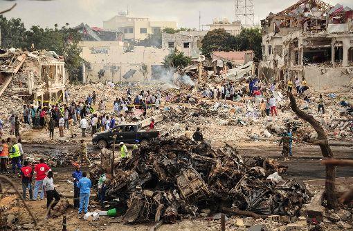 Mehr als 230 Tote bei Selbstmordanschlag