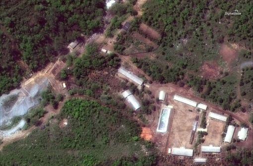 Nordkorea sprengt offenbar Atomtestgelände