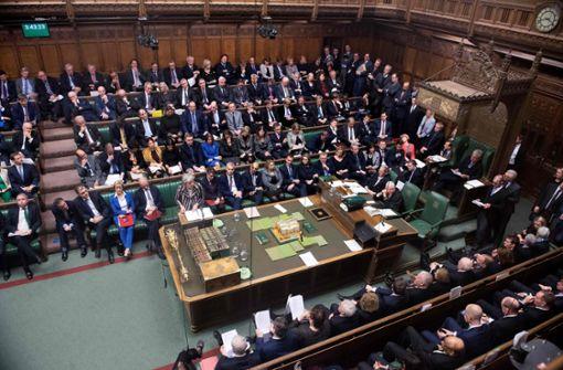 Britisches Parlament stimmt über Brexit-Abkommen ab