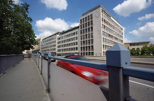 Blick auf das alte Bürogebäude an der Paulinenstraße. Foto: Achim Zweygarth