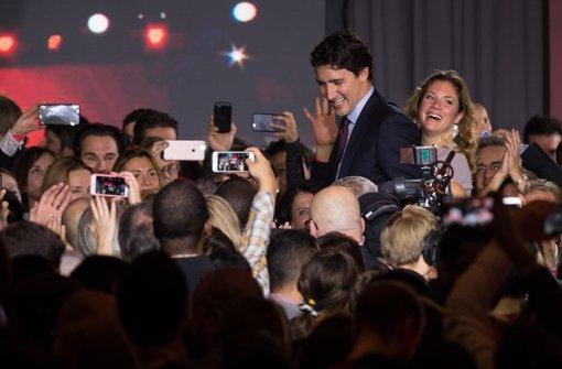 Liberale feiern Erdrutschsieg