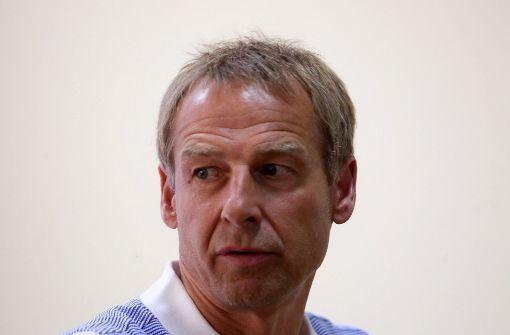 Stattete seinem ehemaligen Verein einen Besuch ab: Jürgen Klinsmann. (Archivbild) Foto: dpa