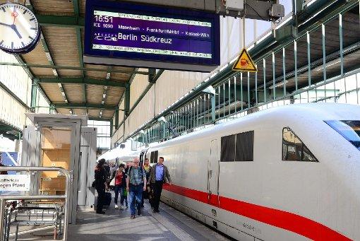 Die Züge fahren wieder planmäßig