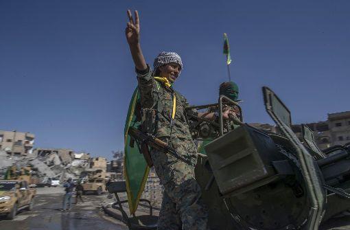 Demokratische Kräfte Syriens erklären Al-Rakka für befreit