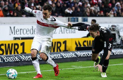 Gegen Leverkusen ragt nur ein Spieler heraus