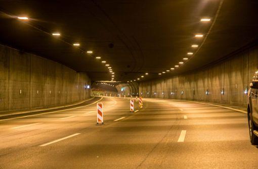 Dafür musste der Tunnel in beide Fahrtrichtungen gesperrt werden. Foto: 7aktuell.de/Nils Reeh