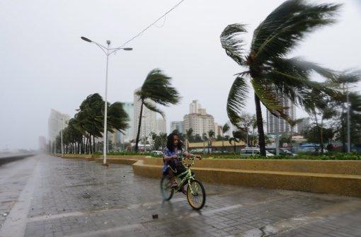 """Taifun """"Koppu"""" fordert mindestens vier Tote"""