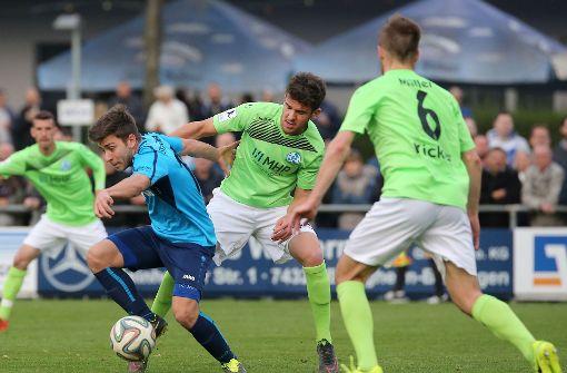 Stuttgarter Kickers gehen in Saarbrücken unter