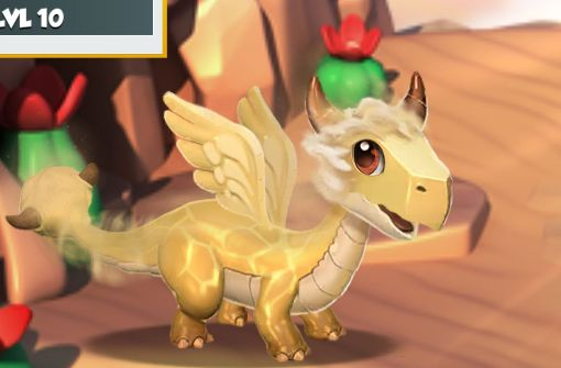 No. 9: the dust dragon: he has a dust banner but looks quite friendly Photo: Screenshot Gameloft