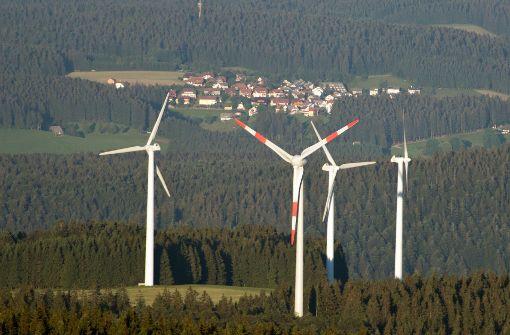 Windkraftausbau  bricht im Land dramatisch ein