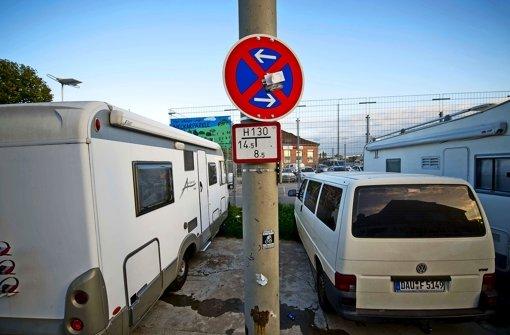 Anwohner protestieren gegen Parksuchverkehr
