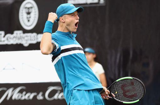17-jähriger Tennisspieler stark wie nie – dank Boris Becker?