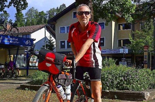 Mit Rad und einem Bein auf Deutschlandtour
