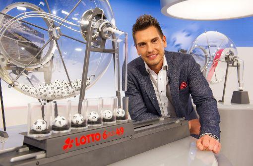Lottofee Chris Fleischhauer in Stuttgart geblitzt