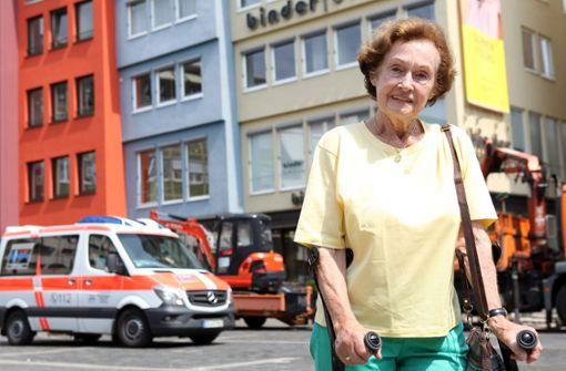 Wenn der Weg zum Arzt durch die Fußgängerzone führt