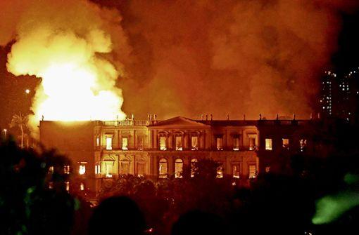 Brasiliens Geschichte geht in Flammen auf
