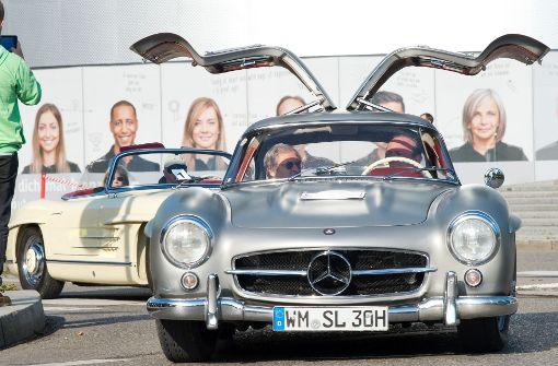 Stelldichein der legendären Flügeltürer in Stuttgart